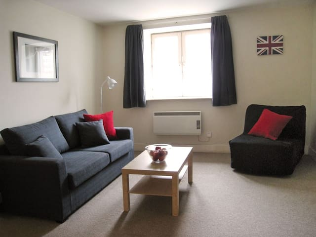 Living room by day