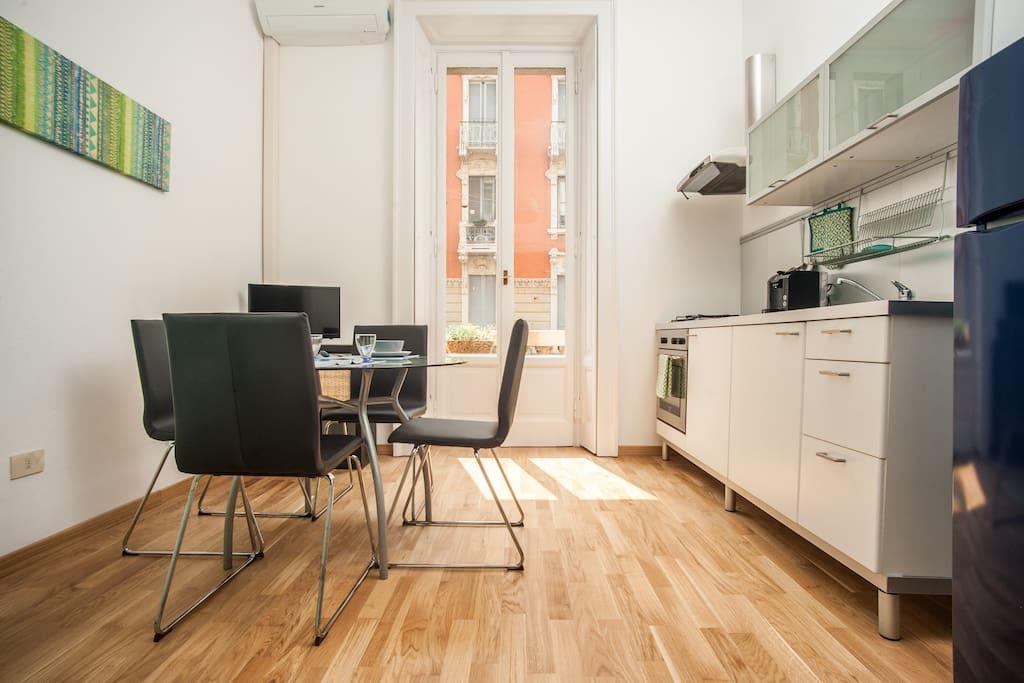 Grazioso bilocale centro milano appartamenti in affitto for Appartamenti a milano centro