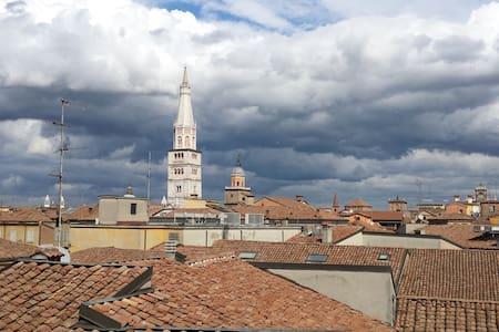 Vista stupenda sui tetti di Modena - Modena - 公寓