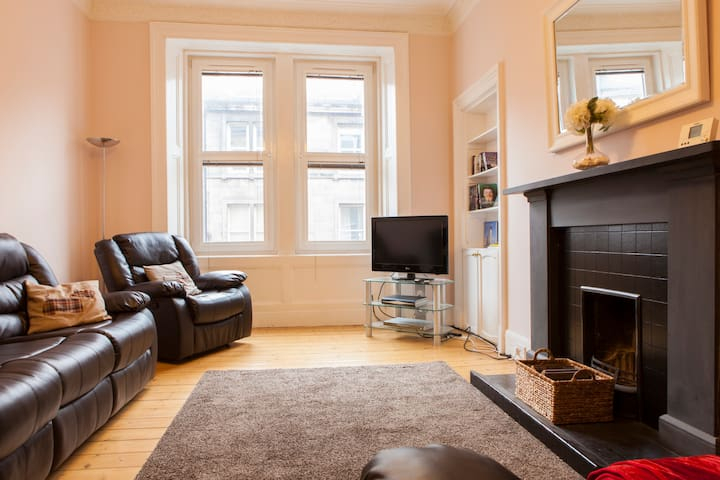 Modern apartment near city centre - Edinburgh - Leilighet
