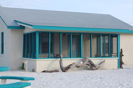 Beach Cottage - beachfront access - Mexico Beach - Talo