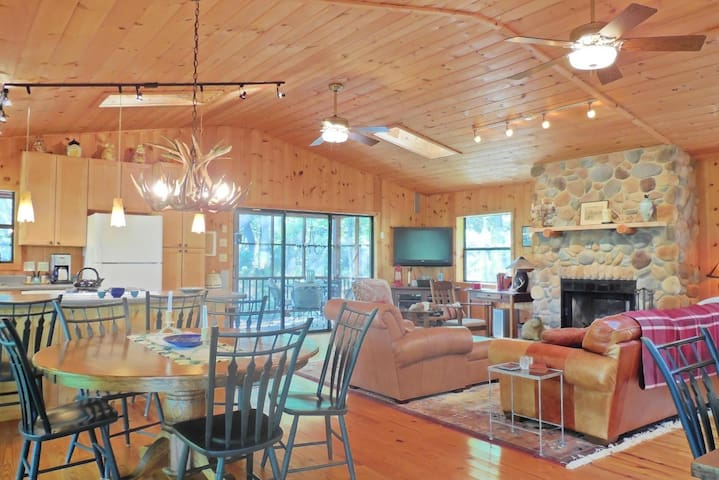 Quiet cabin in Lost River, beautifully furnished - Mathias
