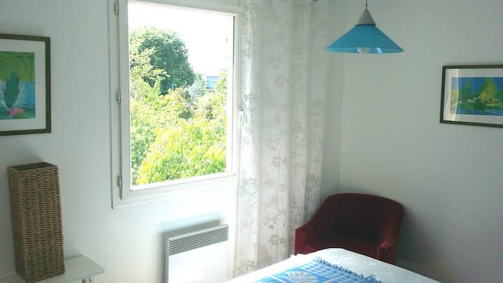 chambre chez l'habitant dans villa