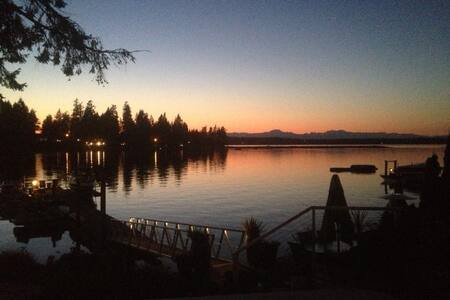 Waterfront +Boat Shuttle to US Open - Gig Harbor