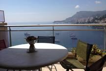 Vue imprenable sur Monaco