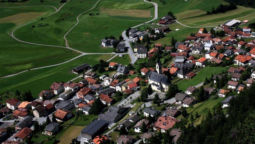 3,5 Zimmer Wohnung in Alvaneu Dorf - Albula/Alvra - Daire