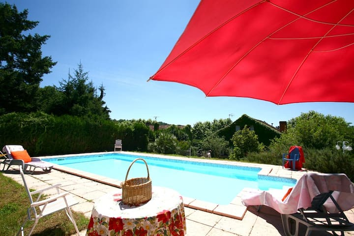 Terrace, Swimming Pool, Sarlat  - Sarlat-la-Canéda - Huoneisto
