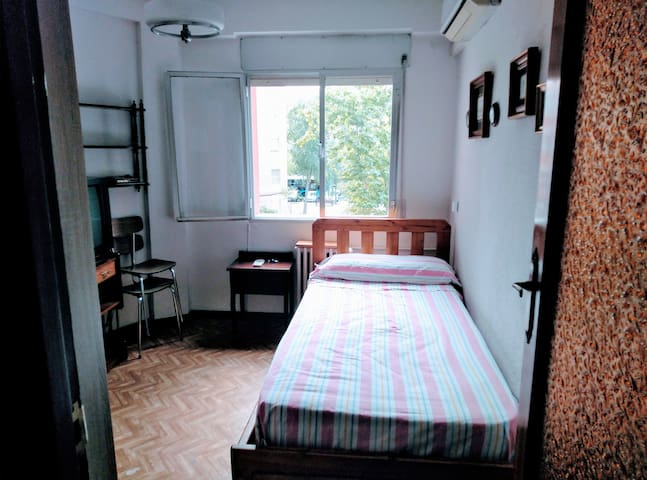 Single room near Airport,IFEMA,Wanda,Muñoza,Senasa