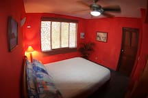 Papaya Room w/ Queen Bed & A/C