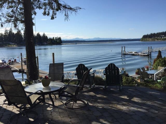 Waterfront +Boat Shuttle to US Open - Gig Harbor - Wohnung