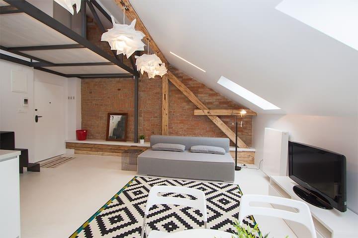 main living area with sofa