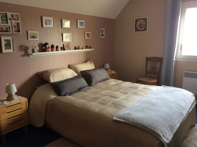 Cosy Room in single-family house! - Bayeux - House
