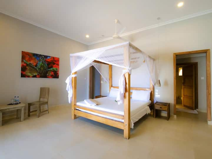 Paje Beach Apartments - Beach Front Double Room