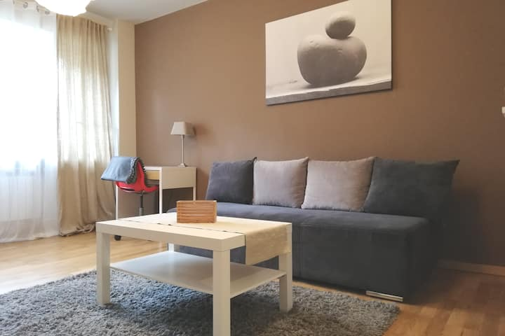 Quiet apartment in the center of Warsaw