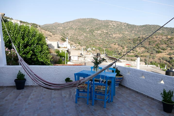 Village House with amazing view in Southern Crete