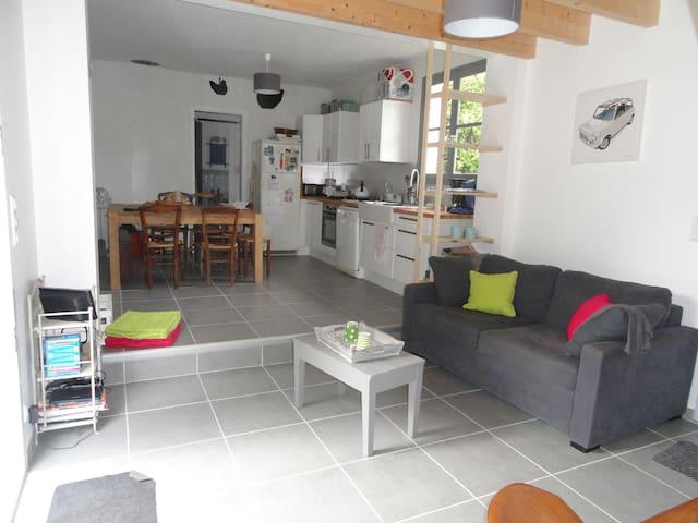 Maison 7 couchages 100m de la plage - Les Moutiers-en-Retz - Casa