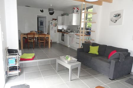 Maison 7 couchages 100m de la plage - Les Moutiers-en-Retz - Rumah