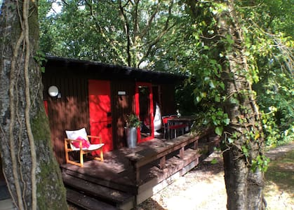 Groovy retro West Wales cabin - Cenarth - Kabin
