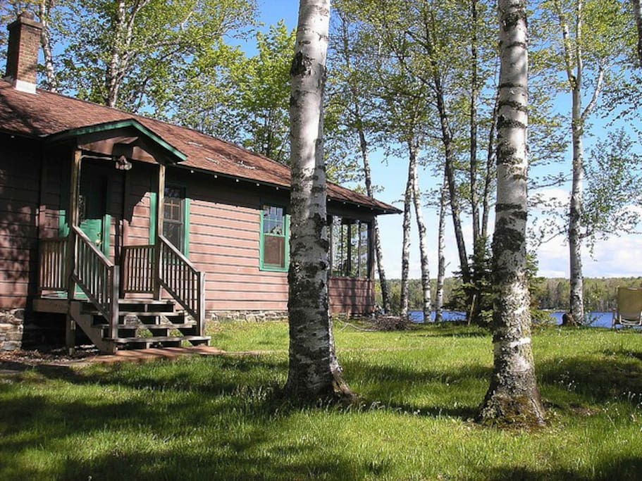 Upper peninsula 39 s lake michigamme cabins for rent in for Fishing cabins in michigan