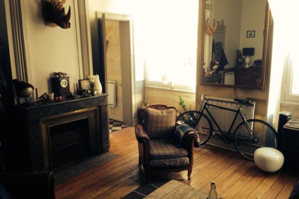 Appartement ancien bordeaux centre bordeaux for Appartement cathedrale ybh bordeaux