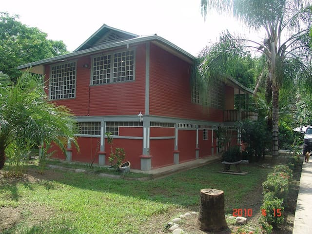 Casa en el tropico sur, Valle del D - Palmar Sur, Osa, Costa Rica - House