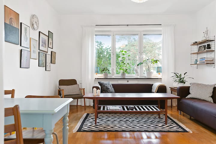 Cozy one bedroom in green area close to Södermalm! - Stockholm - Apartment