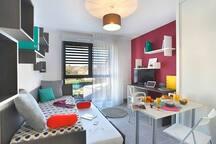 Appartement neuf meublé et équipé centre ville