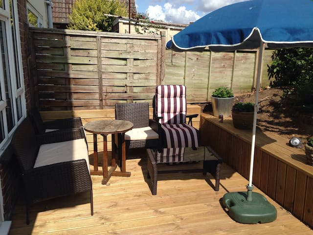 Single room/desk/shared house/garden/parking/wifi - Southampton - Casa