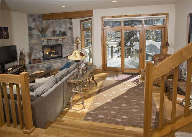 Vail house: 5 minutes from ski lift - Spring Break - Vail - Raðhús