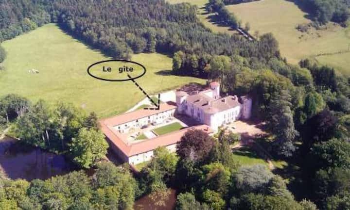 Château de Fougères en Beaujolais