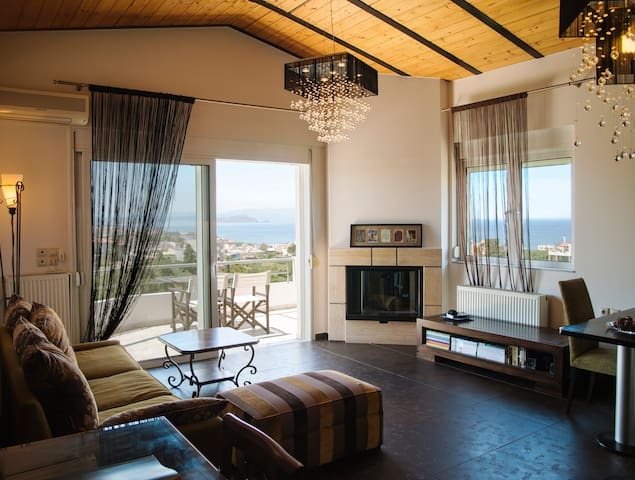 Wide-view & quiet apartment Chania! - La Canea - Departamento