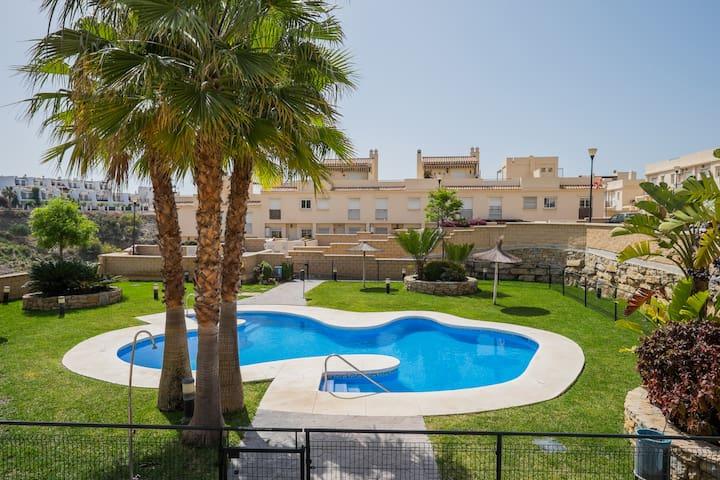 Lovely house on the beach, Málaga.
