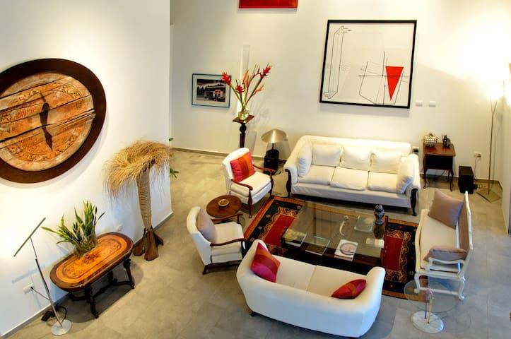 Art Oceanfront Penthouse