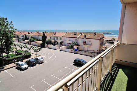 Appartement vue sur mer à 50m plage - Valras-Plage