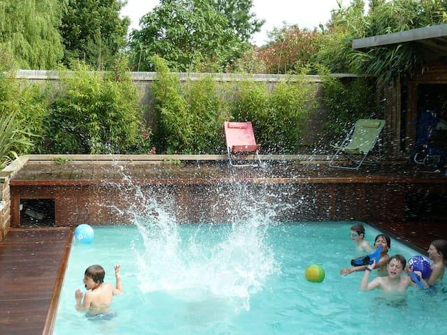 Caen, maison avec piscine Normandie - Éterville
