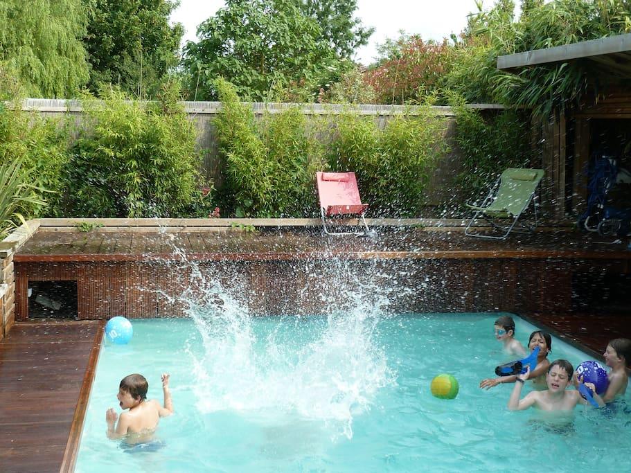 Caen maison avec piscine normandie maisons louer for Location maison avec piscine en normandie
