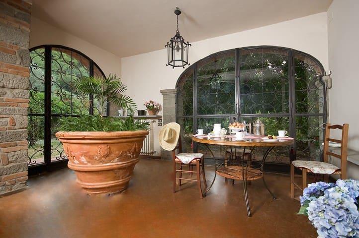 Villa Mavalote - piscina - campagna - Firenze