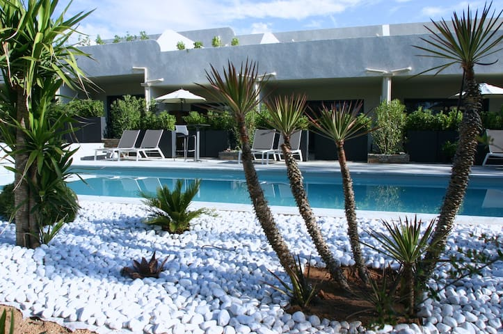 Residence **** Appart 600m beach - swimming pool
