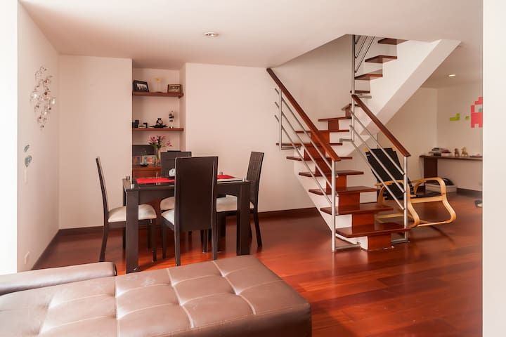 Lovely room Duplex apartament - Bogotá - Appartement