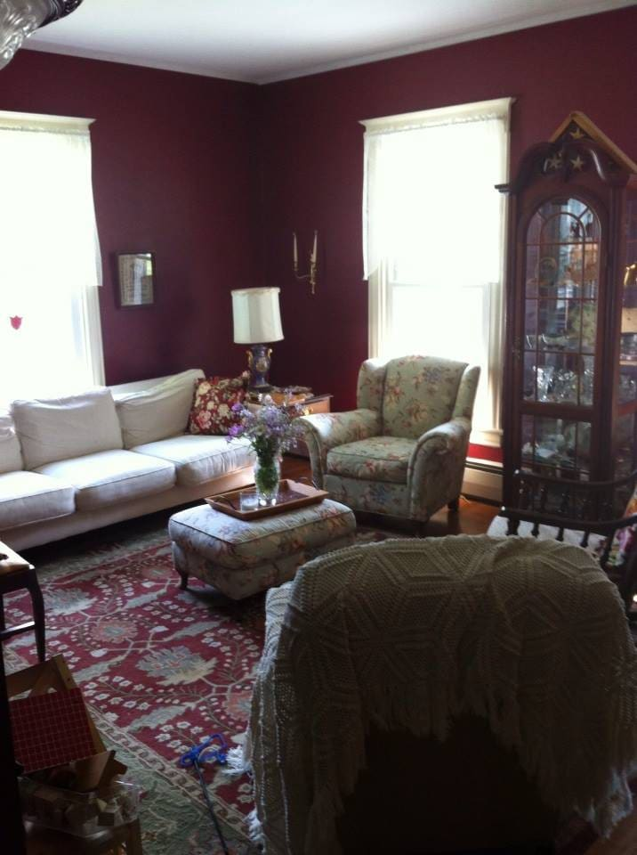 You are welcome to relax in the parlor.