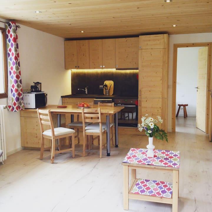 Calm & Quiet Apartment in the Mont Blanc Region