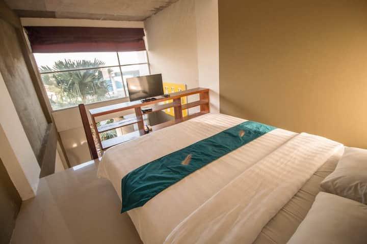 A Loft Apartment 11 w/ shared pool in Denpasar