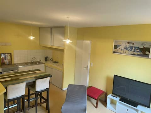 Lovely 2 bedroom flat in the center of Arreau.