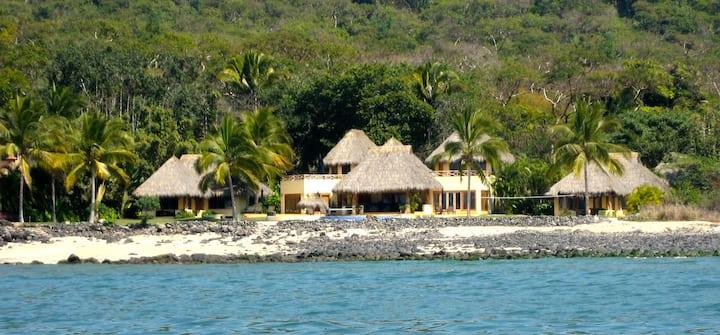 luxury beach house Casa Palapas at Marina Chacala