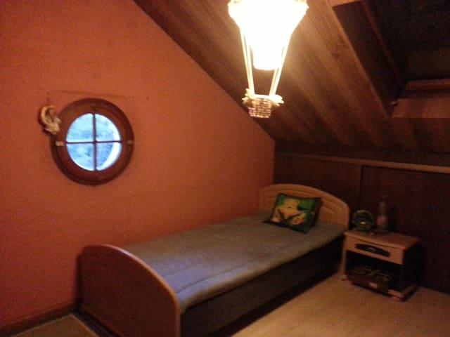 Loue deux chambres individuelles dans Pavillon - Deuil-la-Barre - Haus