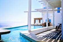 Swimming pool -outdoor area