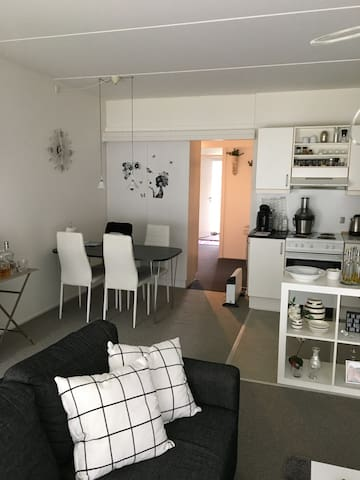 Cosy flat close til city center - Viby - Lägenhet