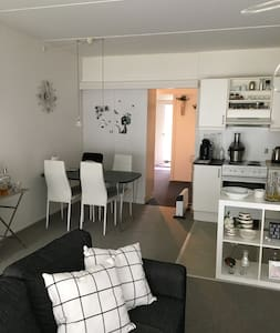 Cosy flat close til city center - Viby