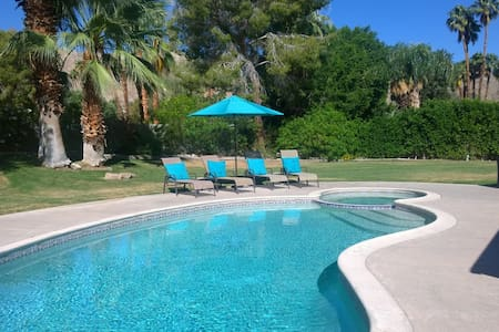 Private 1/2 Acre Corner Lot, Mtn Views, Pool - 兰乔米拉(Rancho Mirage)