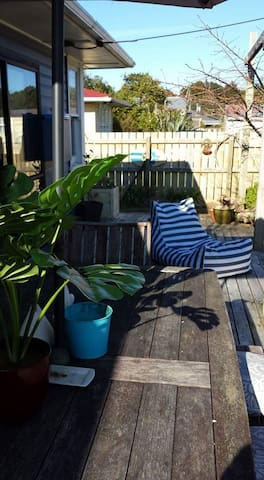 Feel free to share our beautiful gardens and outdoor dining area